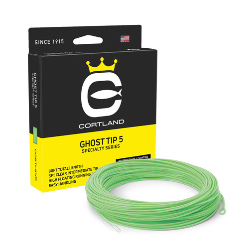 Cortland Cortland 5 Ghost Tip Intermediate Precision Subsurface Fly Line