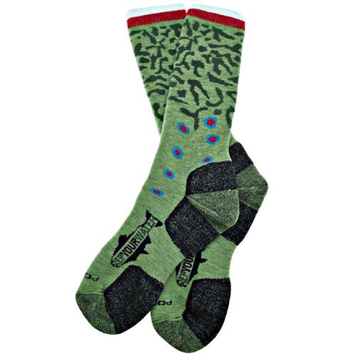 RepYourWater RepYourWater Brook Trout Skin Socks