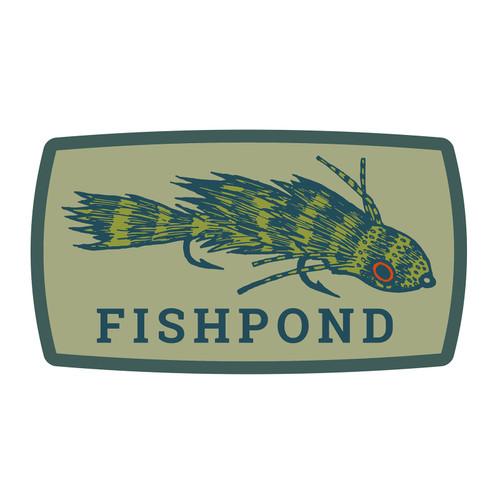 Fishpond Meathead Sticker - 6
