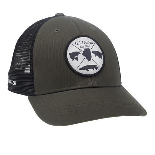 RepYourWater Illinois Est. 1818 Mesh Back Hat