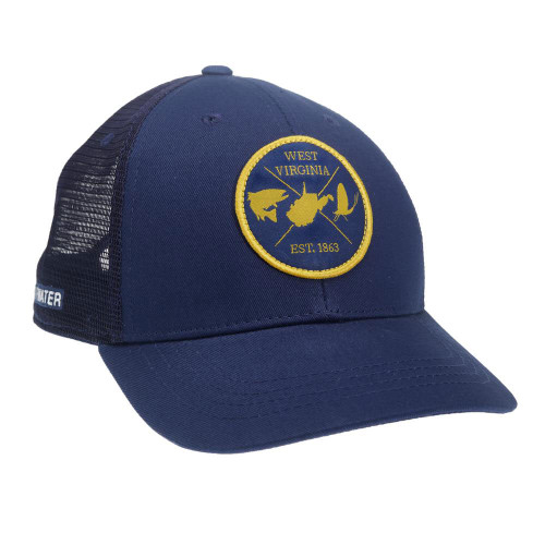 RepYourWater West Virginia Est 1863 Mesh Back Hat