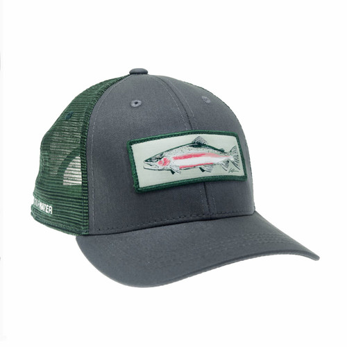RepYourWater Winter Run Steel Hat Gray/Green