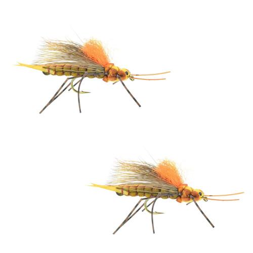 Umpqua Fluttering Stone Golden Size 8 2 Pack