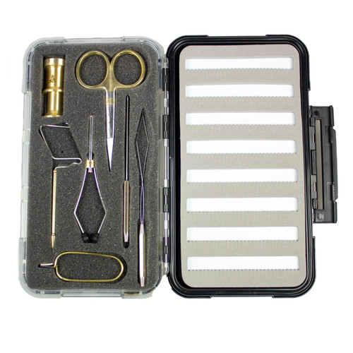 Dr. Slick Brass Gift Set 7 Pieces + Large Fly Box