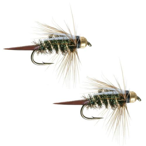 Umpqua Prince Nymph Tungsten Peacock 2 Pack
