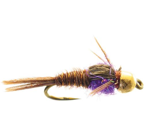 Umpqua Hot Belly Pheasant Tail Purple 2 Pack