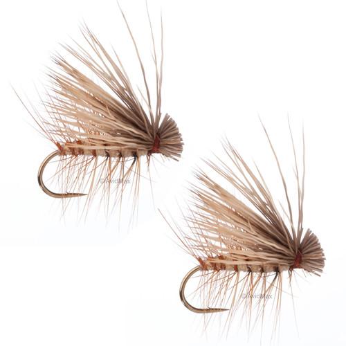 Umpqua Elk Hair Caddis Tan 2 Pack