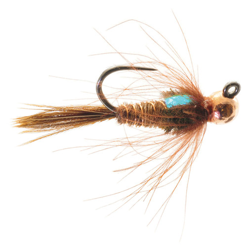 Umpqua Jigged Pheasant Tail Tungsten Copper Bead 2 Pack