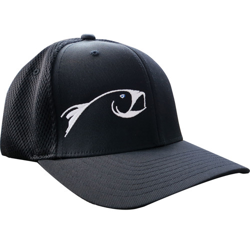 Rising FlexFit Trucker Hat - Black