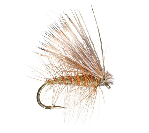 Umpqua Elk Hair Caddis Olive 2 Pack