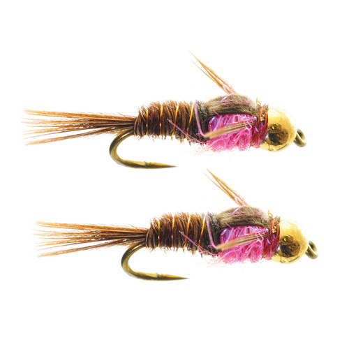 Umpqua Hot Belly Pheasant Tail Pink