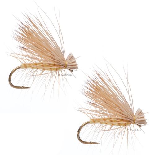 Umpqua Elk Hair Caddis Yellow 2 Pack