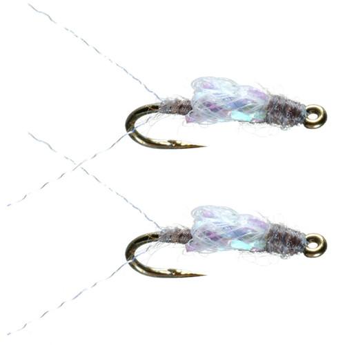 Umpqua Sparkle Wing RS2 Gray 2 Pack