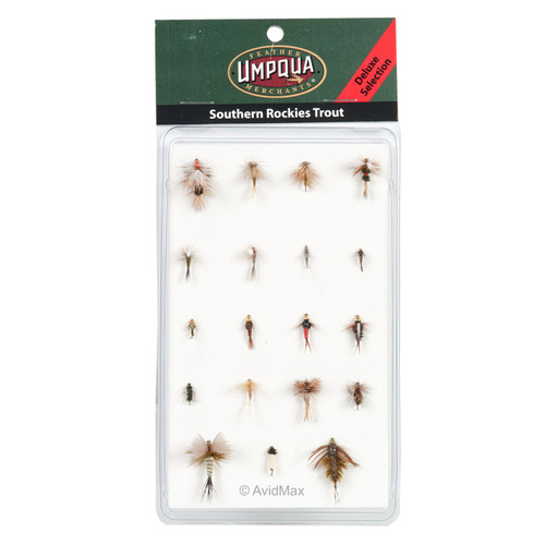 Umpqua Southern Rockies Trout Fly Selections