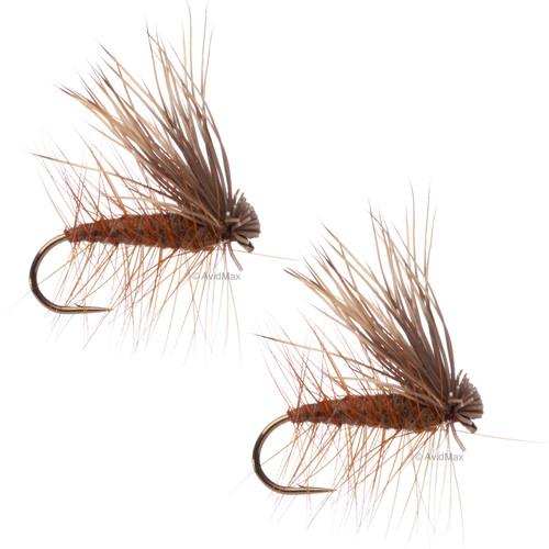 Umpqua Elk Hair Caddis Brown 2 Pack