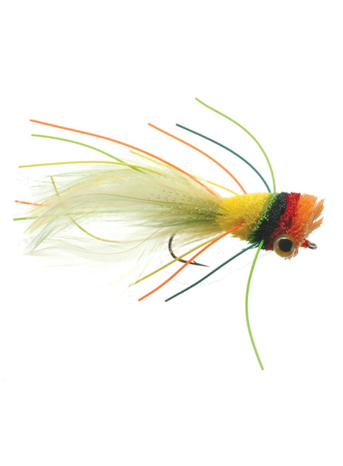 Umpqua Deerhair Bass Bug Fruit Cocktail Bass Surface