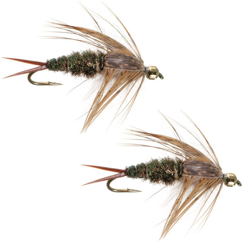 Umpqua 20 Incher Peacock Pattern