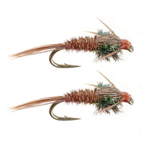 Umpqua Pheasant Tail Natural 2 Pack