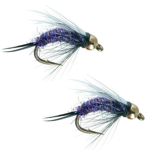 Details about  /Umpqua Psycho Prince Gold Caddis Green 2 Pack Nymph Fly Fishing Flies