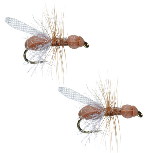 Umpqua Foam Flying Ant Cinnamon Terrestrials 2 Pack