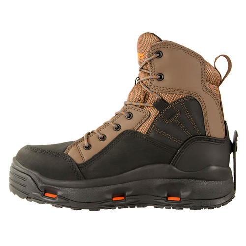 Korkers BuckSkin Fly Fishing Wading Boots with Convertible Outsoles
