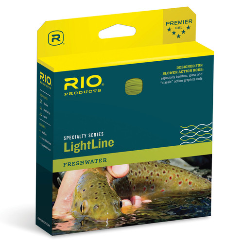 RIO Lightline Weight Forward Double Taper Floating Fly Line - All Sizes
