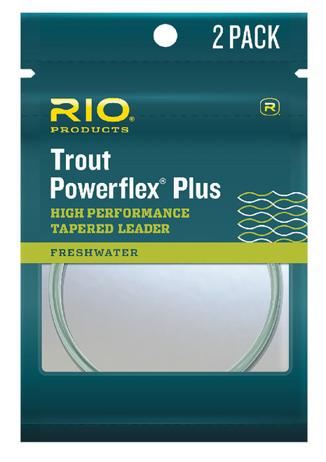 RIO Powerflex Plus Leader - 2 pk