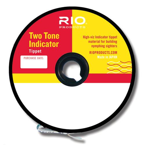 RIO 2-Tone Indicator Tippet (PINK & YELLOW)