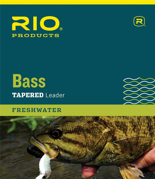 RIO Nylon Bass Fly Leaders - 9'
