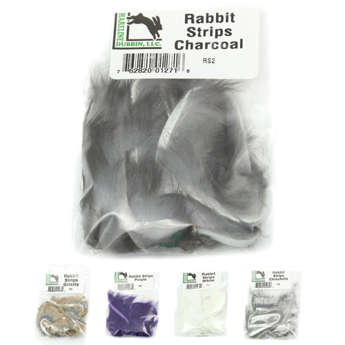 Hareline Hareline Natural and Dyed Rabbit Strips