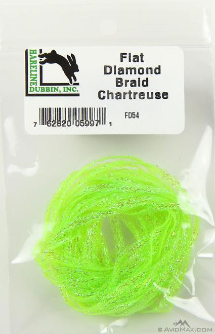 Hareline Flat Diamond Braid