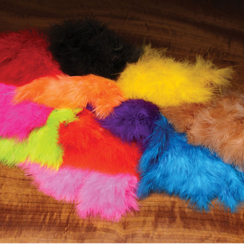 Hareline Wooly Bugger Marabou Feathers
