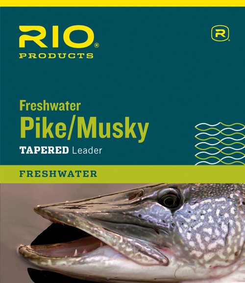 RIO Pike/Musky Wire Leader with Snap Link