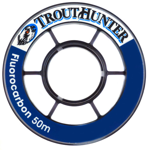 TroutHunter Fluorocarbon Fly Fishing Tippet - 3 Pack