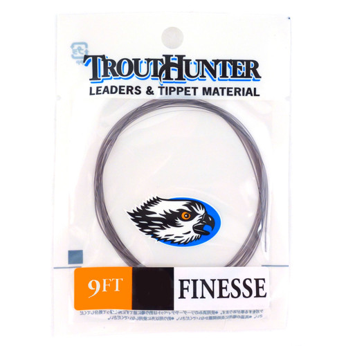 TroutHunter Finesse Leaders - 9' - 3 Pack