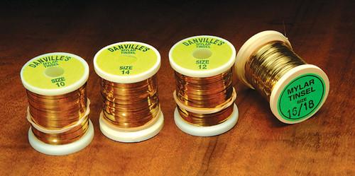 Danville's Flat Mylar Gold/Silver Tinsel