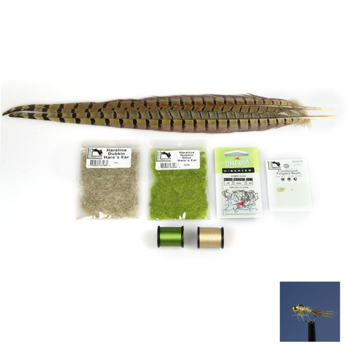 AvidMax Hare's Ear Fly Tying Pattern Materials Kit