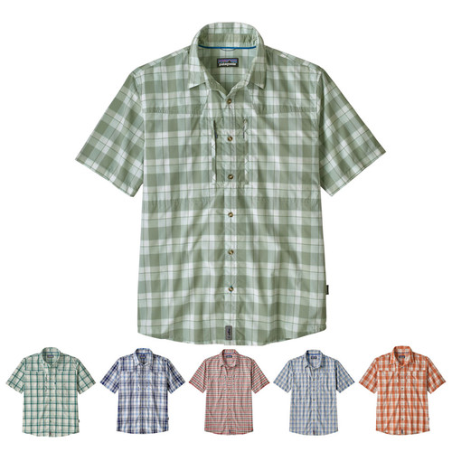 Patagonia Men's Short Sleeve Sun Stretch Shirt