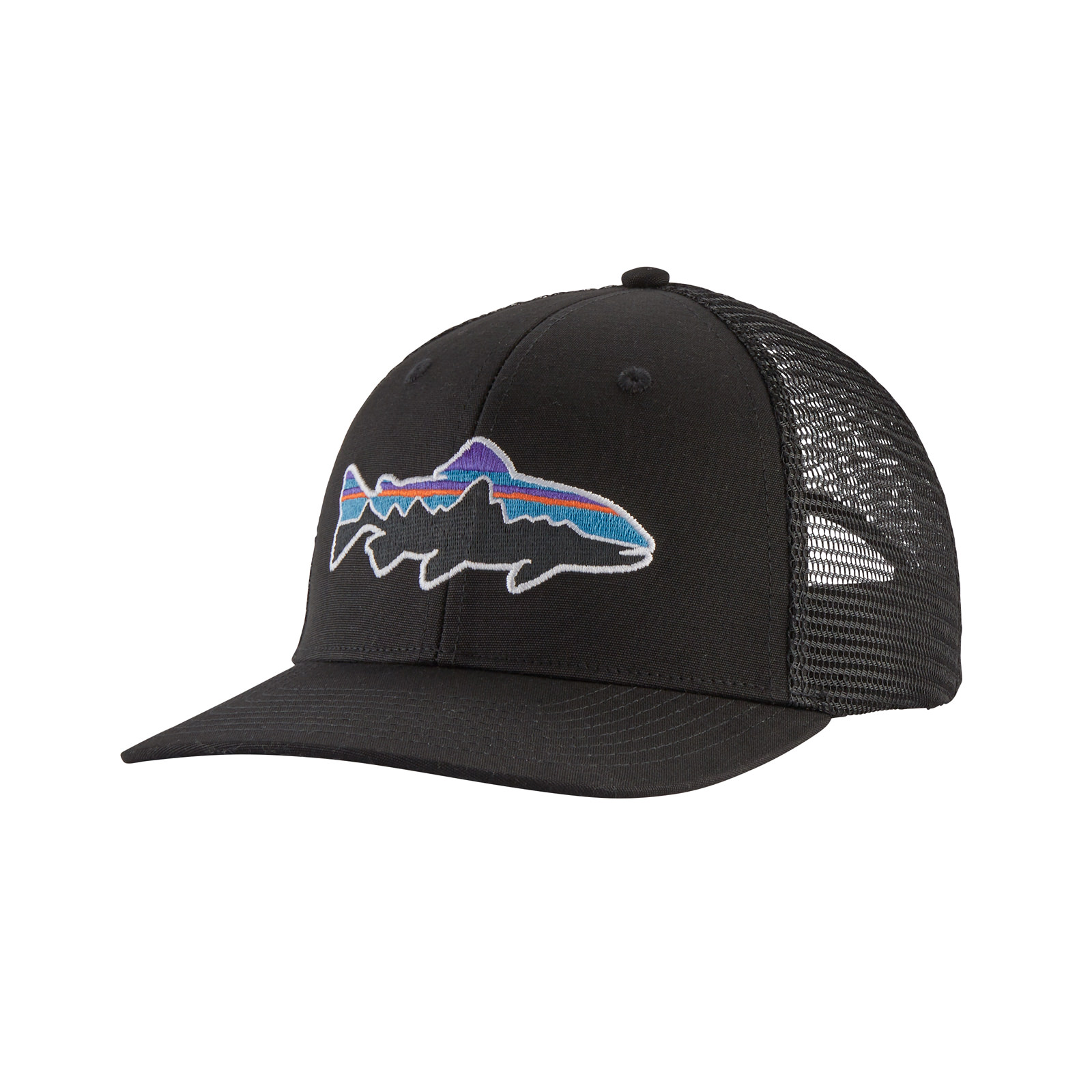 aa4e0271 Patagonia Fitz Roy Trout Trucker Hat - AvidMax