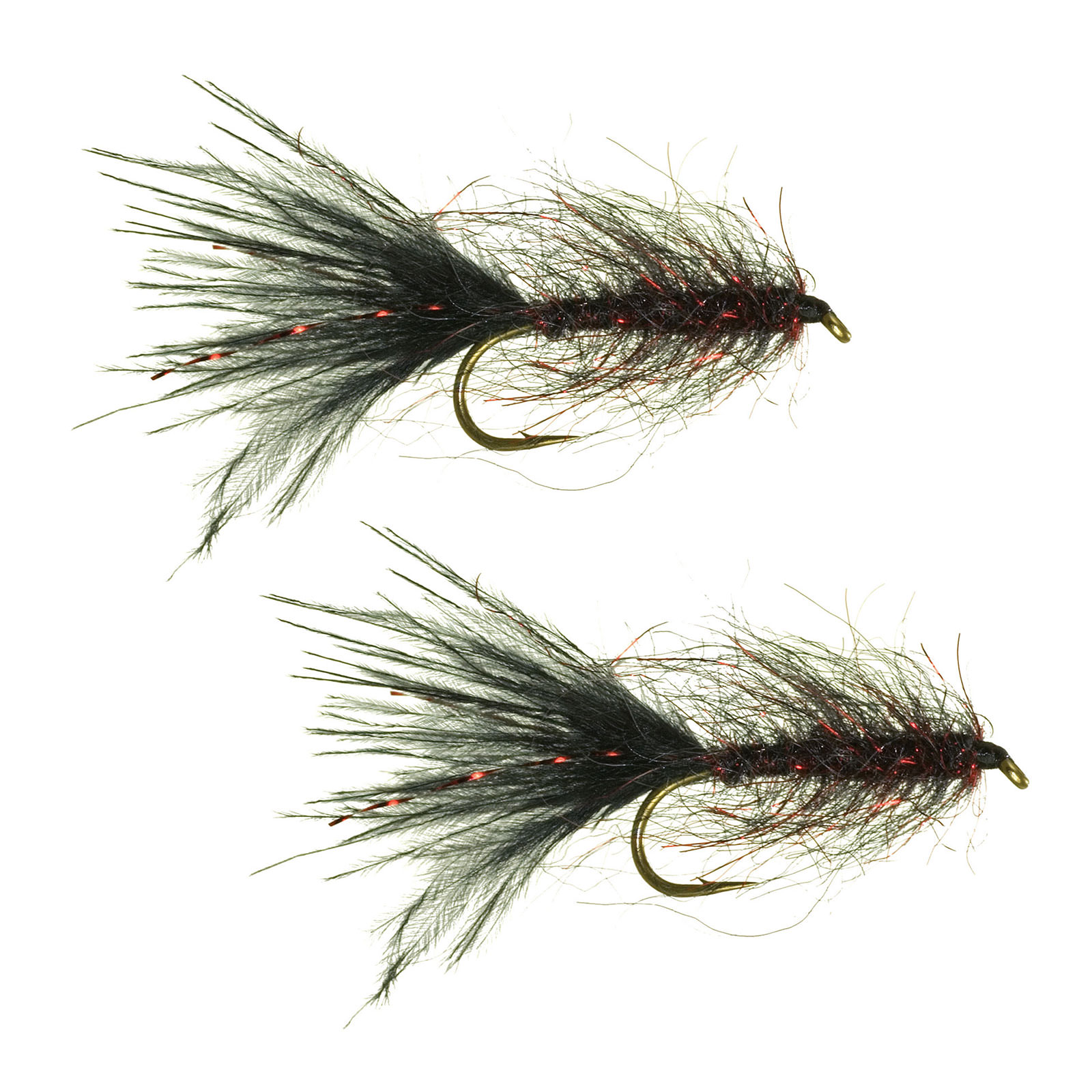 Umpqua Goat Leech Black/Red Streamer