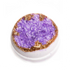 Amethyst - Geode Bath Bomb.  Hand-painted and scented with notes of lavender, clary sage, and eucalyptus.