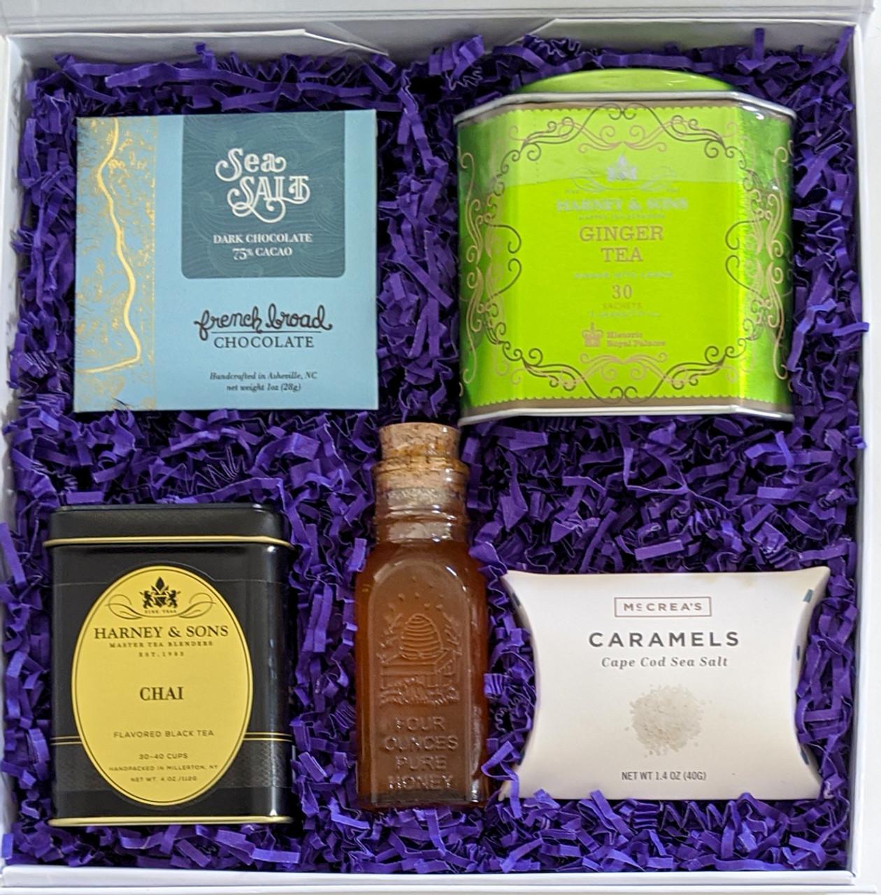 Tea and Treats Gift Box