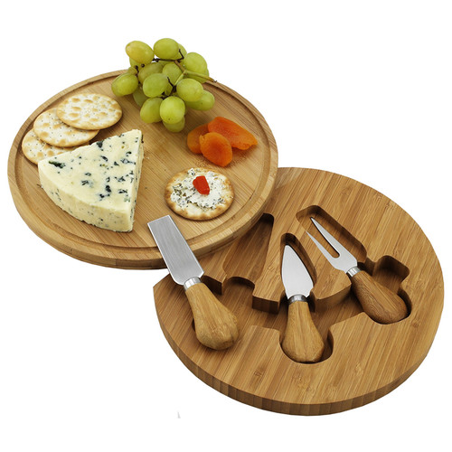 Feta Cheese Board with Cheese Tools