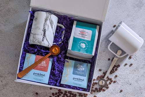 Customize your coffee gift box