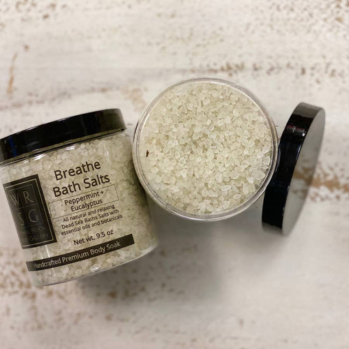 Peppermint and Eucalyptus Dead Sea Bath Salts