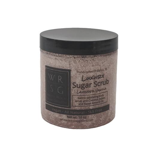 Lavender Vanilla Sugar Scrub