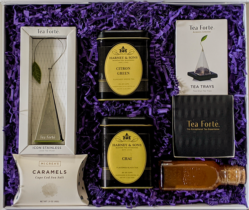 Tea Gift Box, great gift for birthday, christmas
