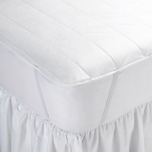 Martex Basic Essential Non-Woven Mattress Pad With Anchor Band