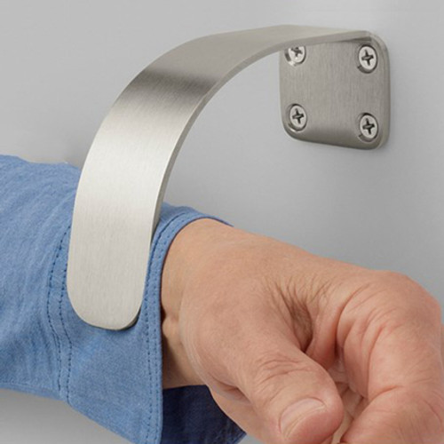 Rockwood Curve Arm Pull with MicroShield antimicrobial coating