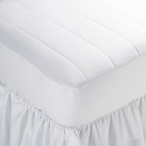 Martex Basic Choice Woven Mattress Pad With Fitted Skirt